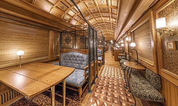 """Khám phá chuyến tàu """"hoàng gia"""" tại Nhật Bản - Ảnh 5."""