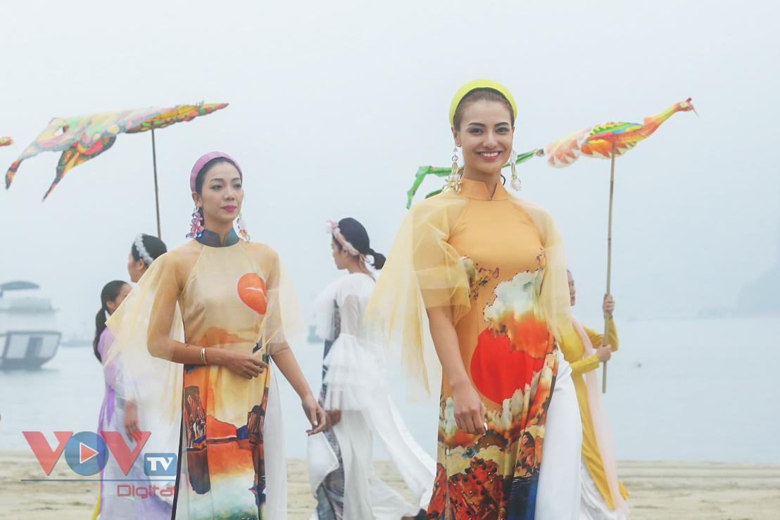 Độc đáo Festival áo dài Quảng Ninh 2020: Về miền di sản - Ảnh 5.