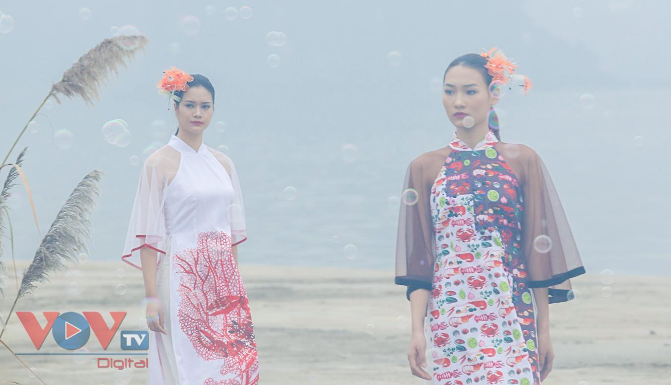Độc đáo Festival áo dài Quảng Ninh 2020: Về miền di sản - Ảnh 7.