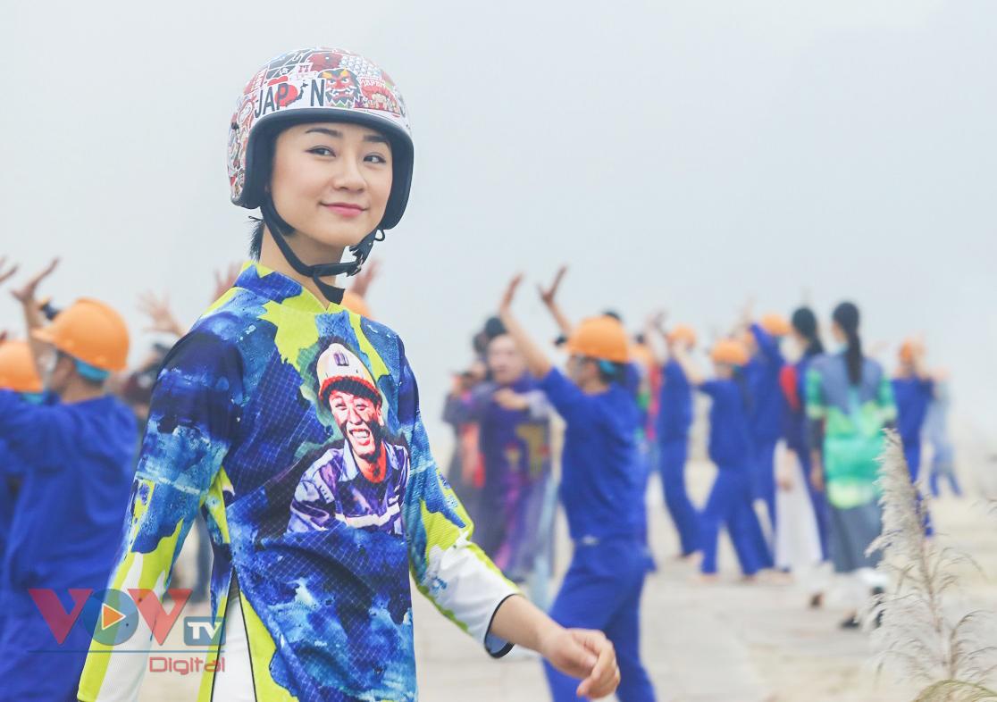 Độc đáo Festival áo dài Quảng Ninh 2020: Về miền di sản - Ảnh 9.