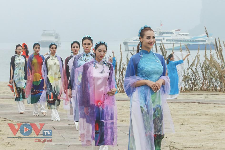 Độc đáo Festival áo dài Quảng Ninh 2020: Về miền di sản - Ảnh 11.