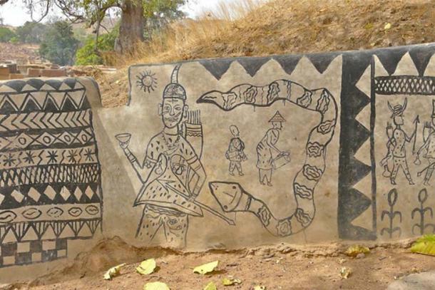 Ngôi làng lưu giữ văn hóa trên từng bức tường - Ảnh 7.