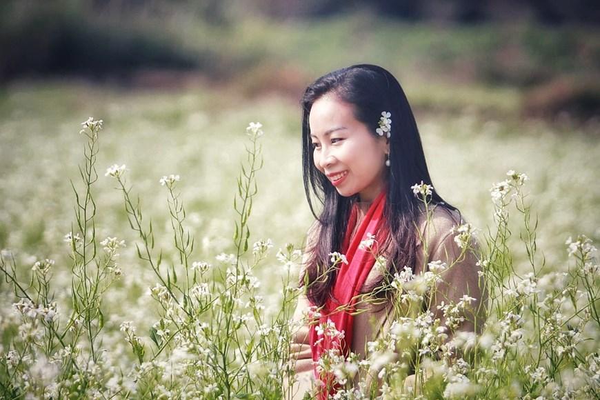 Cánh đồng hoa ngút ngàn đẹp như tranh vẽ ở Sò Lườn - Ảnh 10.
