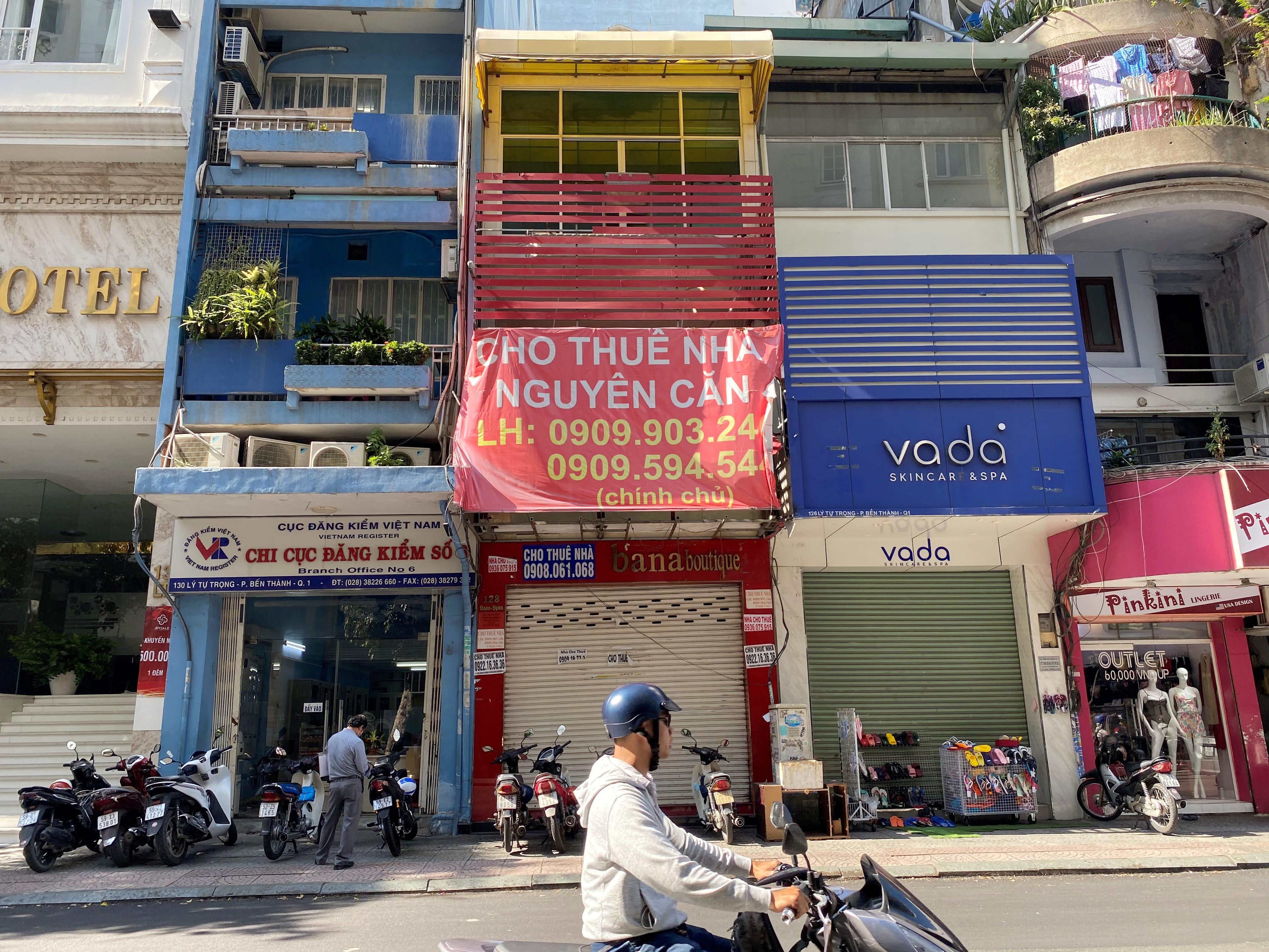 """Giảm giá 80 triệu đồng/tháng, đất vàng Sài Gòn """"khát"""" người thuê - Ảnh 1."""