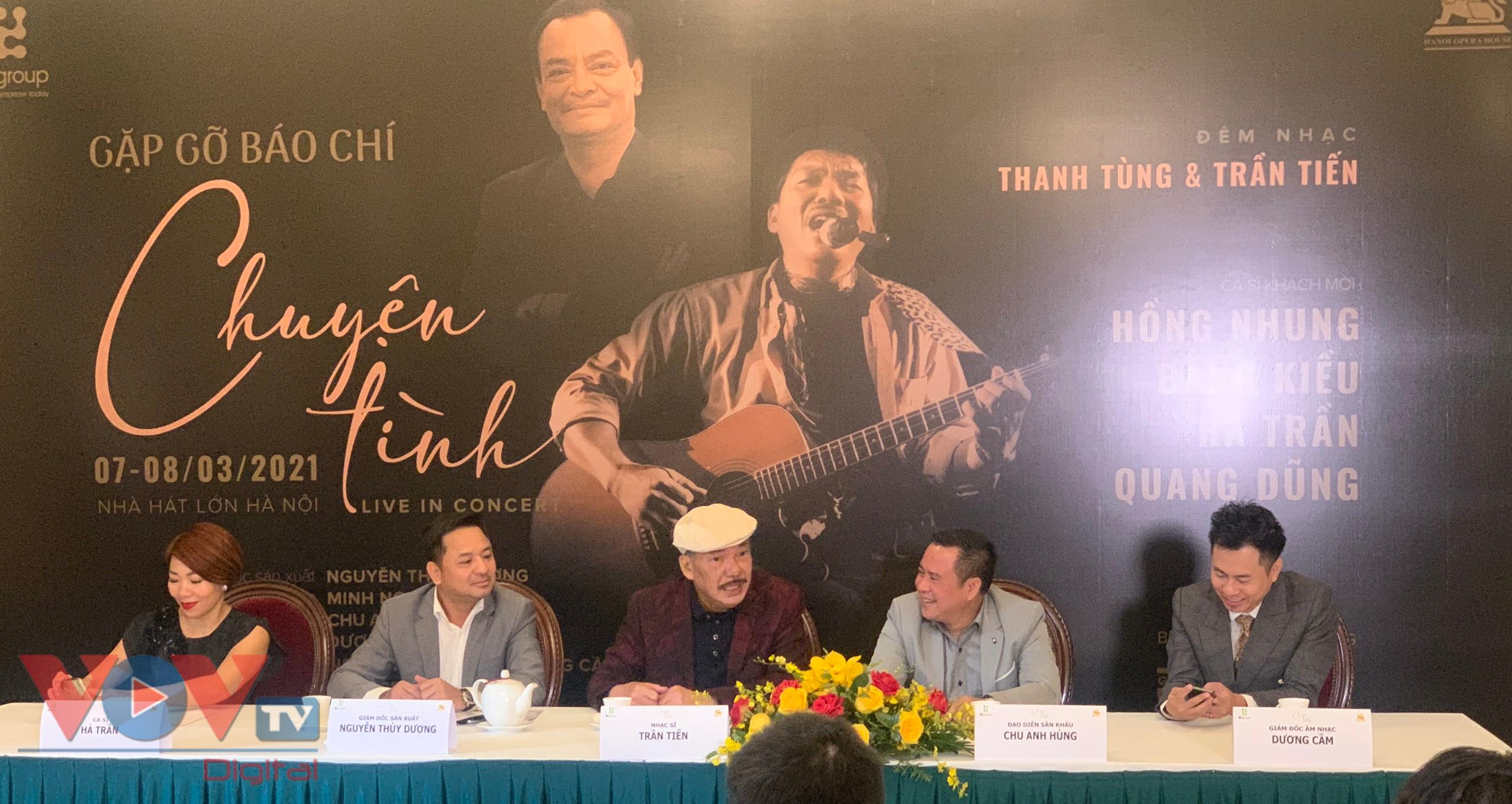 Nhạc sĩ Trần Tiến tươi rói trong buổi họp báo - Ảnh 3.