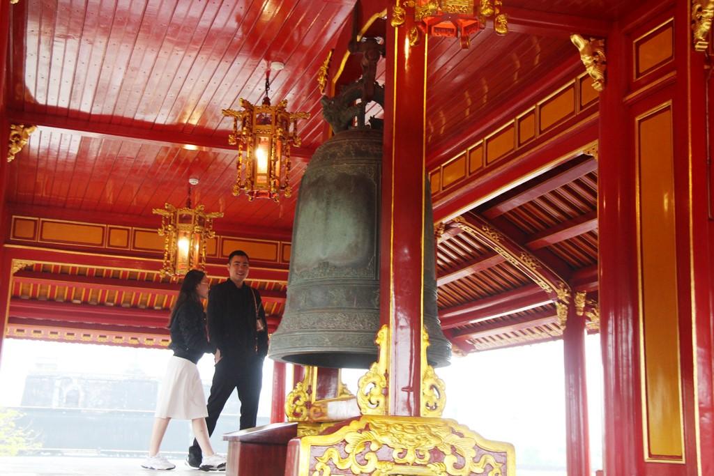 Huế: Ngọ Môn mở cửa đón khách sau thời gian dài trùng tu  - Ảnh 10.