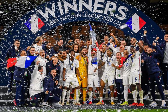 Kết quả Tây Ban Nha 1-2 Pháp: Pháp trở thành tân vương UEFA Nations League - Ảnh 2.