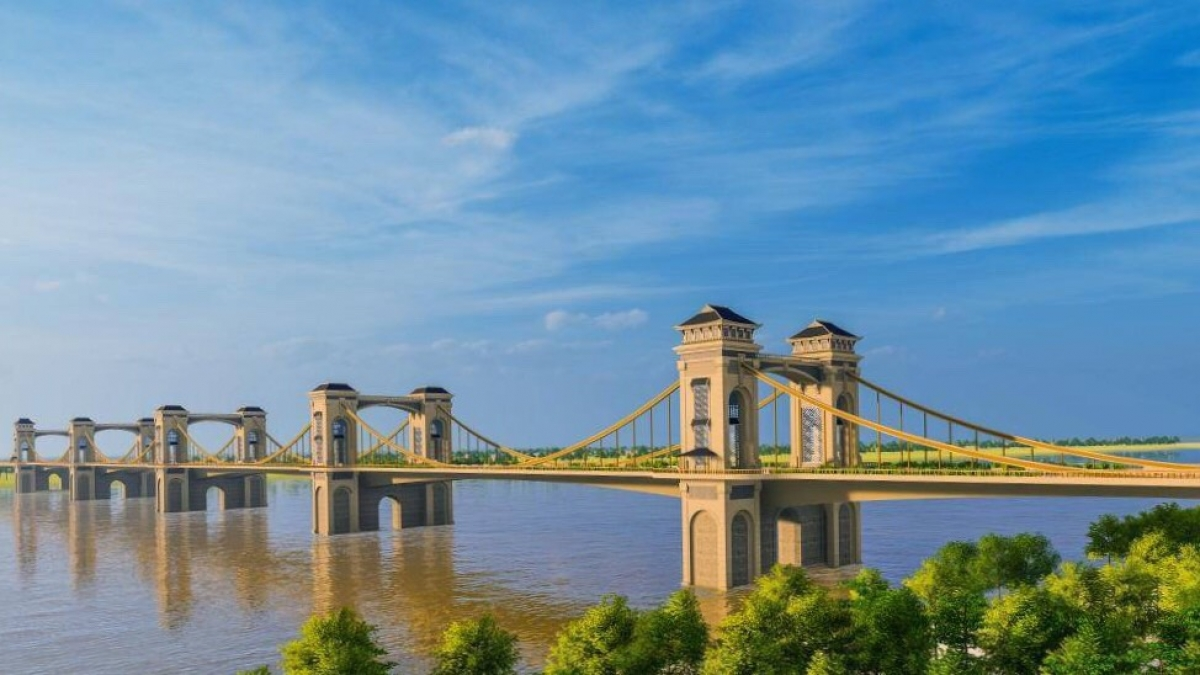 Ăn theo thông tin xây cầu Trần Hưng Đạo, bất động sản bờ Bắc sông Hồng đang 'sốt ảo' - Ảnh 1.