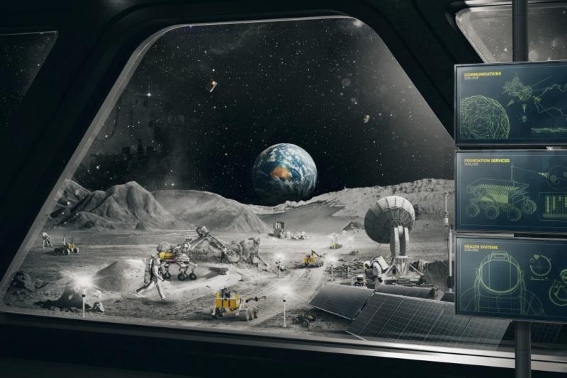 Mỹ sẽ phóng tàu thám hiểm Australia sản xuất lên mặt trăng - Ảnh 1.