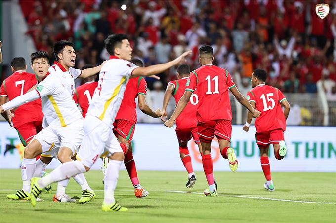 Kết quả Oman 3-1 Việt Nam: Vui buồn cùng VAR - Ảnh 1.