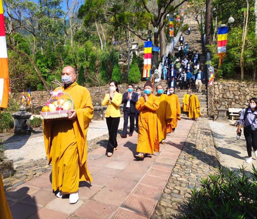 Ban trị sự giáo hội Phật giáo Việt Nam tỉnh Quảng Ninh tiến hành các nghi lễ tâm linh cầu quốc thái, dân an.jpg