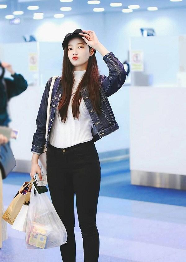 10 set đồ sang chảnh của sao Hàn, nàng mặc đẹp ngày Hà Nội mưa lạnh - Ảnh 9.
