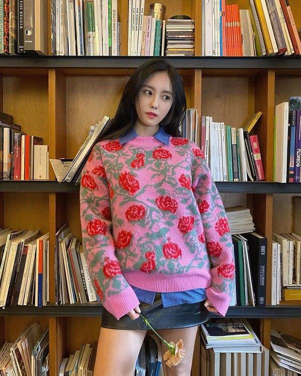 10 set đồ sang chảnh của sao Hàn, nàng mặc đẹp ngày Hà Nội mưa lạnh - Ảnh 10.