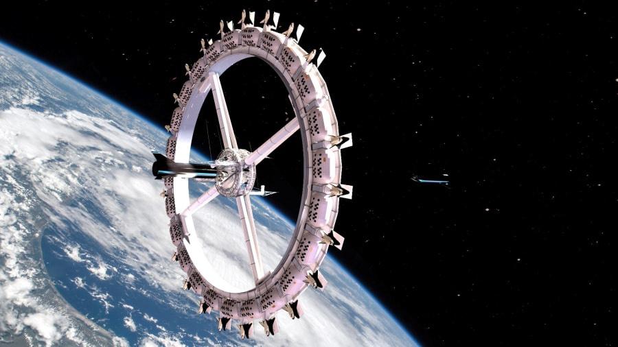 Khách sạn đầu tiên ngoài vũ trụ - Ảnh 1.