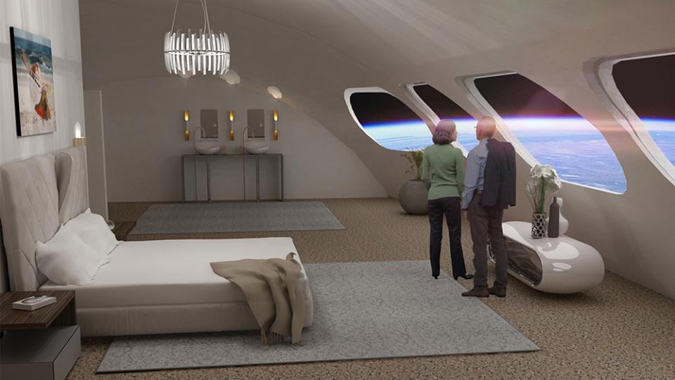 Khách sạn đầu tiên ngoài vũ trụ - Ảnh 3.