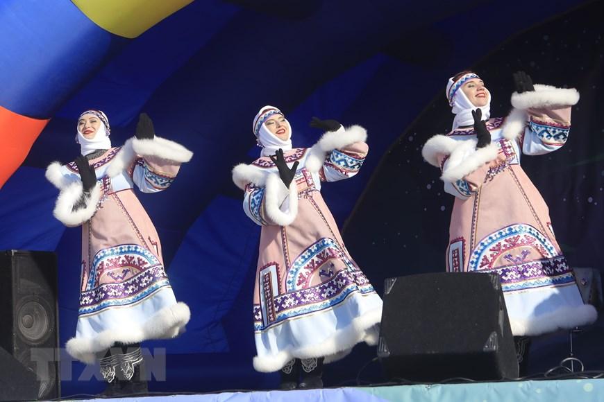 Rực rỡ sắc màu lễ hội người chăn hươu phương Bắc Nga - Ảnh 13.