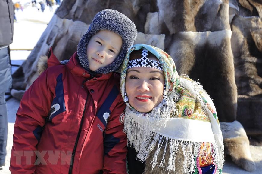 Rực rỡ sắc màu lễ hội người chăn hươu phương Bắc Nga - Ảnh 15.