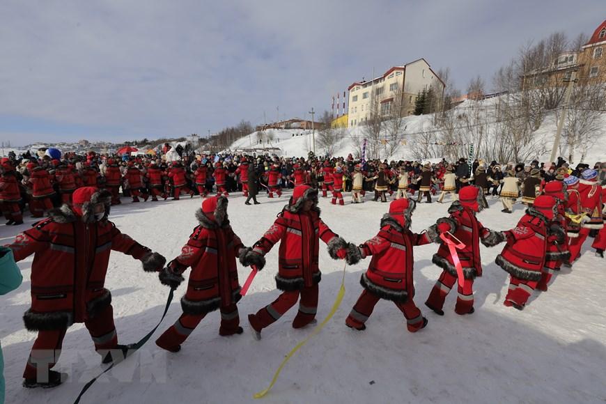 Rực rỡ sắc màu lễ hội người chăn hươu phương Bắc Nga - Ảnh 17.