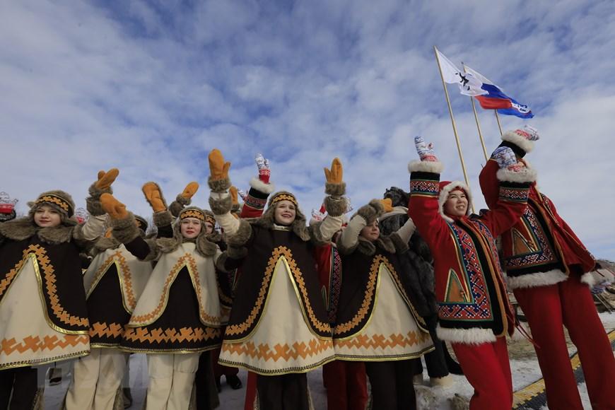 Rực rỡ sắc màu lễ hội người chăn hươu phương Bắc Nga - Ảnh 19.