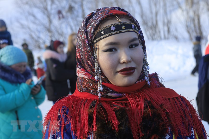 Rực rỡ sắc màu lễ hội người chăn hươu phương Bắc Nga - Ảnh 7.