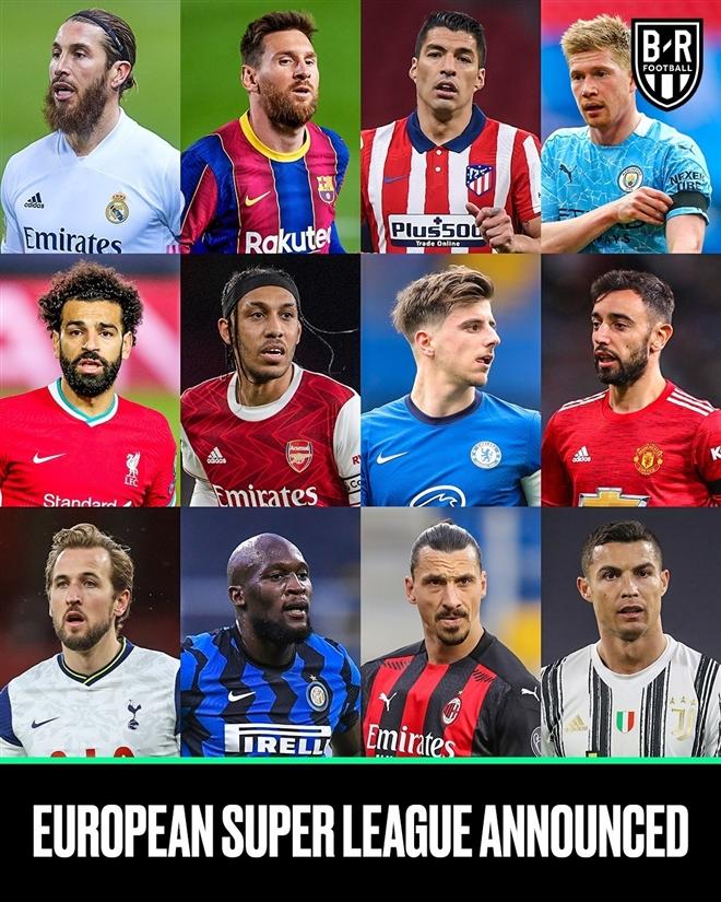 Super League ra đời: 12 CLB lớn nhất châu Âu tự lập giải đấu mới - Ảnh 2.