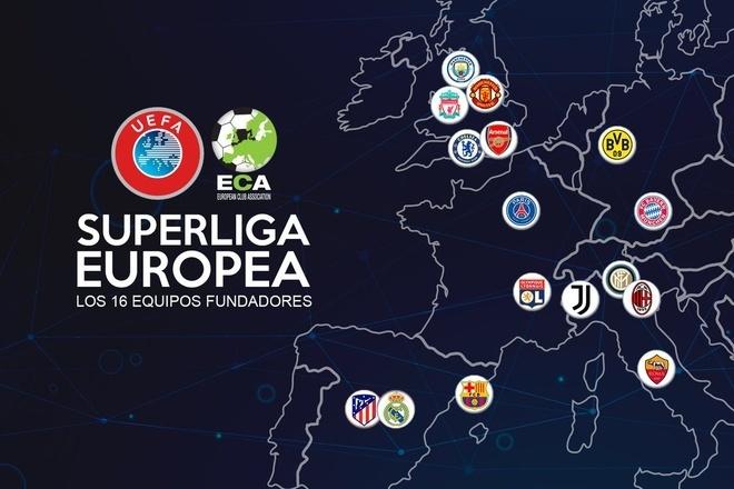 Super League ra đời: 12 CLB lớn nhất châu Âu tự lập giải đấu mới - Ảnh 1.