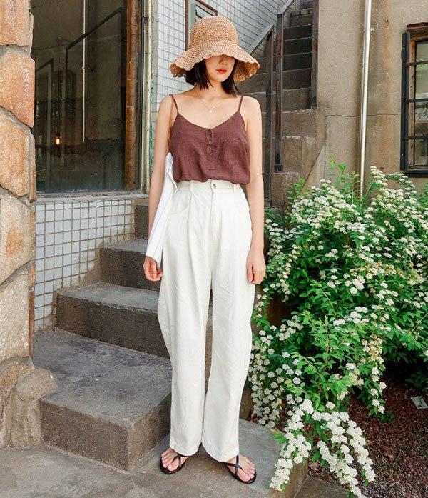Đây là kiểu quần mốt nhất hè này, hội quý cô sành điệu hay diện để trông cao và gầy - Ảnh 9.