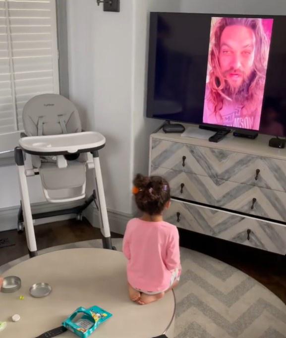 Con gái The Rock là fan của 'Aquaman' Jason Momoa - Ảnh 3.