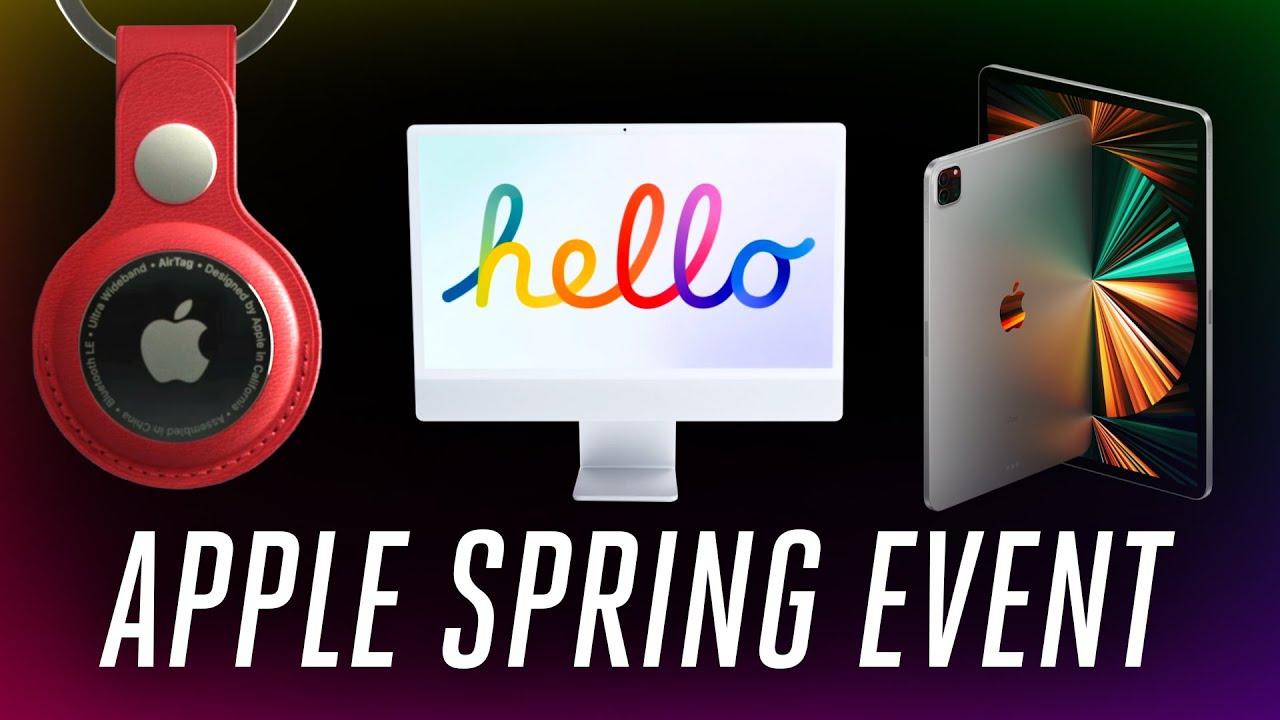 Apple ra mắt iPhone mới màu tím, iPad M1, AirTag và iMac - Ảnh 1.