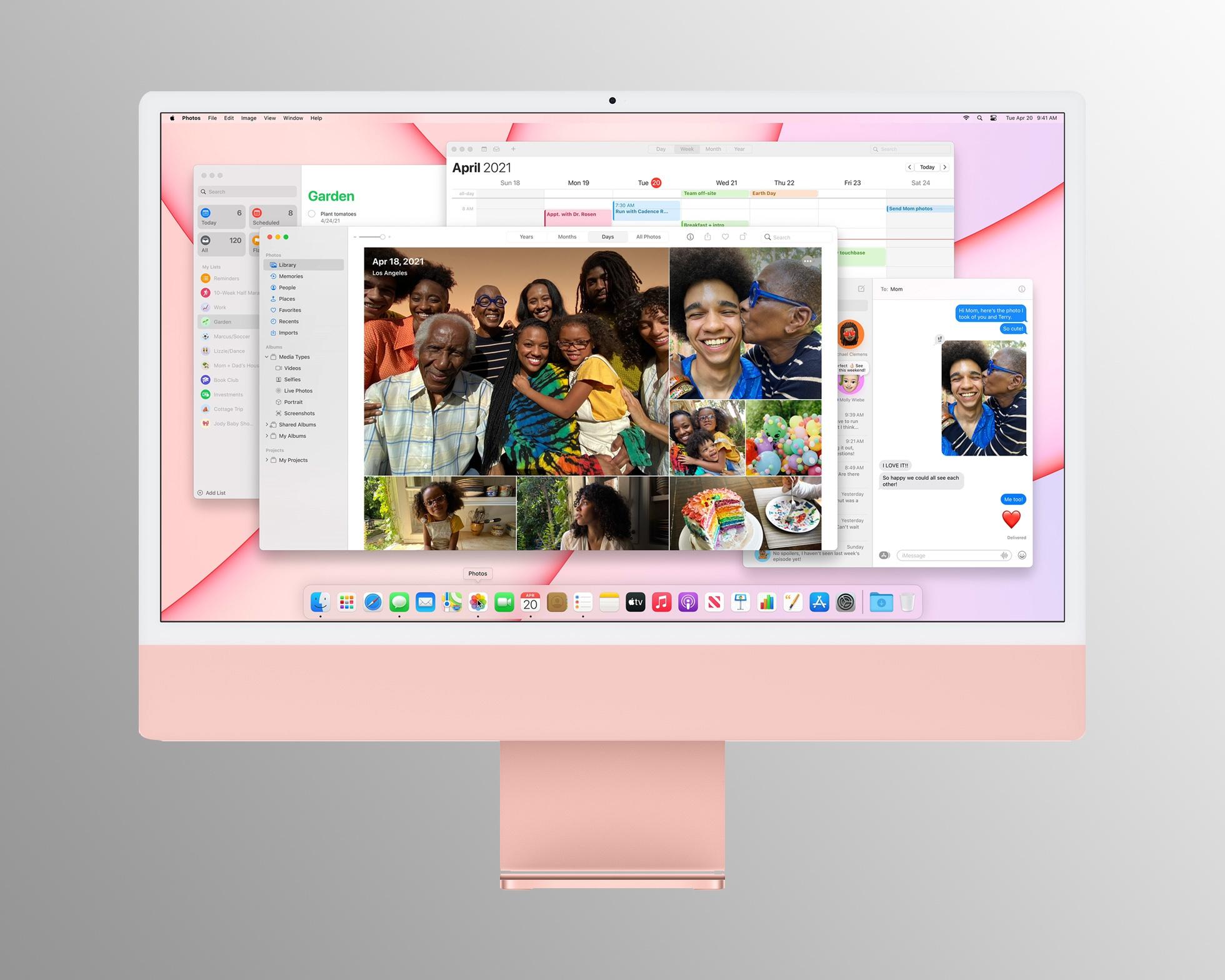 Apple ra mắt iPhone mới màu tím, iPad M1, AirTag và iMac - Ảnh 4.