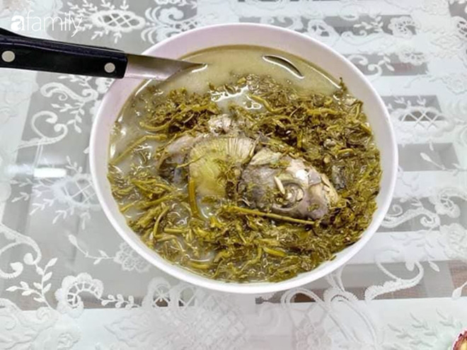 Canh rau sắn chua nấu cá - Đặc sản bình dị của người dân đất Tổ Vua Hùng - Ảnh 7.