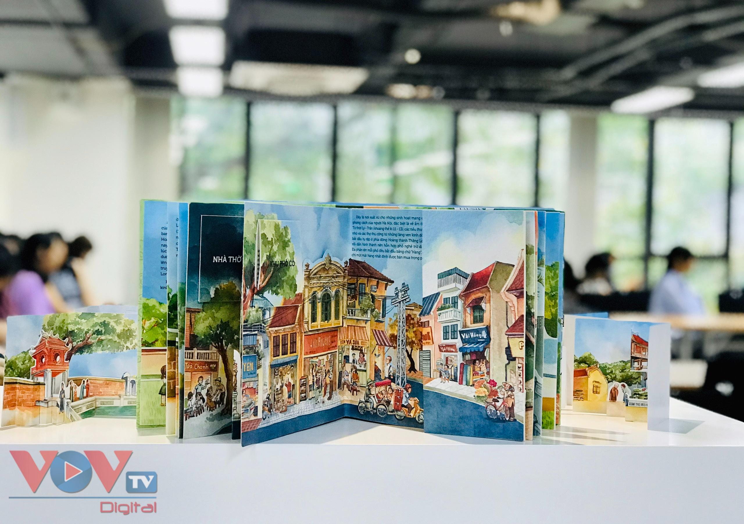 Khám phá danh thắng Thủ đô bằng hình 3D trong 'Hà Nội ngàn năm kí ức' - Ảnh 3.