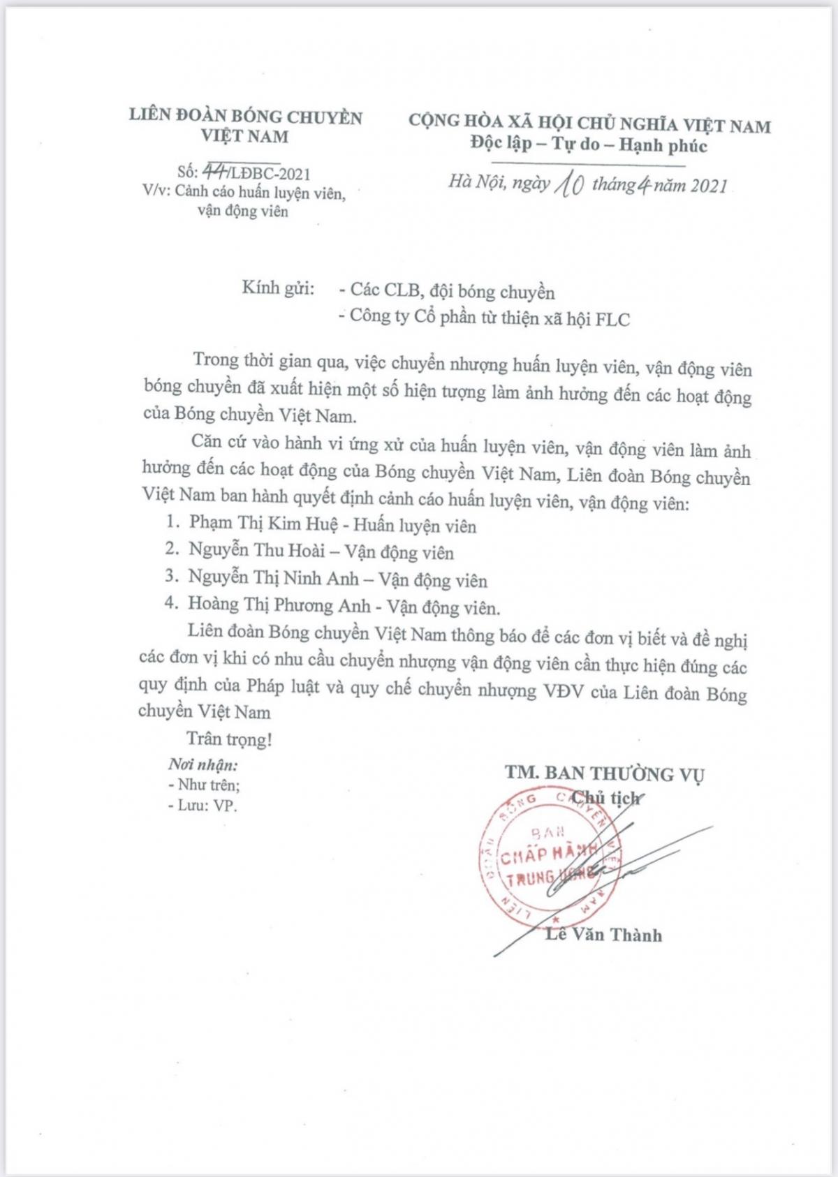 Hoa khôi bóng chuyền Kim Huệ và lời kêu cứu trước án kỷ luật 'từ trên trời giáng xuống' - Ảnh 1.