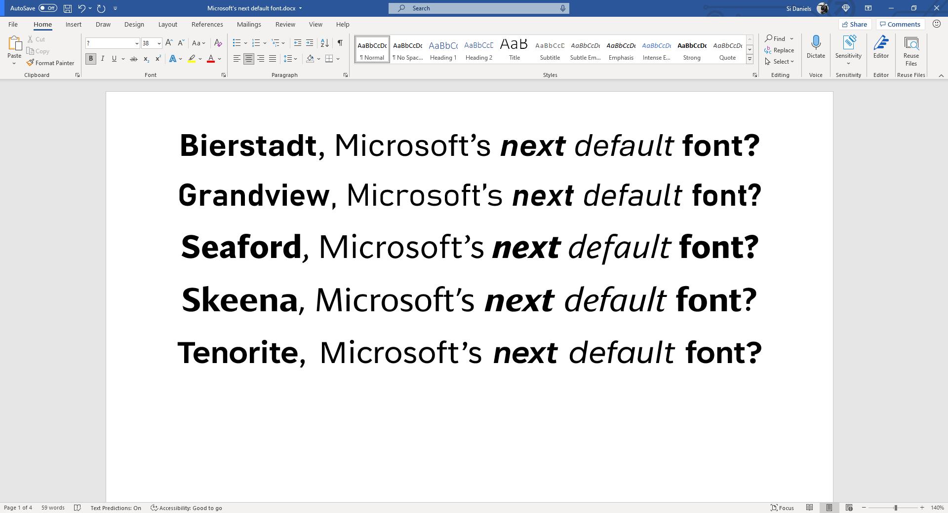 Microsoft Word, Excel, PowerPoint có thay đổi lớn sau 15 năm - Ảnh 2.