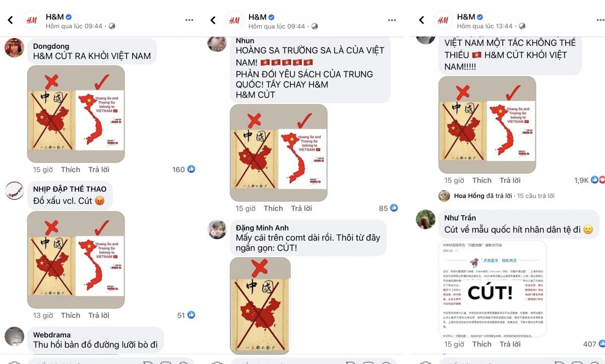 Cộng đồng mạng Việt Nam phản ứng gay gắt khi nghe tin H&M sửa bản đồ liên quan chủ quyền - Ảnh 1.