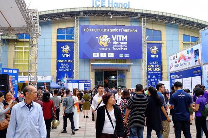 350 gian hàng tại Hội chợ Du lịch quốc tế Việt Nam - VITM Hà Nội 2021 - Ảnh 2.