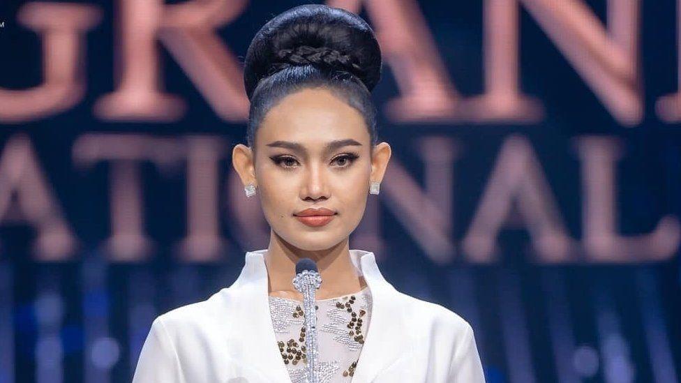 Myanmar truy nã hoa hậu - Ảnh 1.