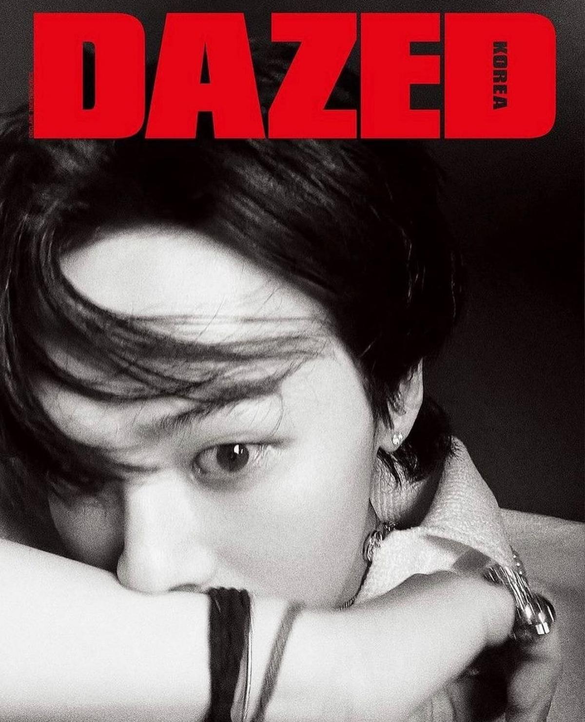G-Dragon khẳng định đẳng cấp 'Ông hoàng thời trang' với 8 trang bìa tạp chí - Ảnh 3.