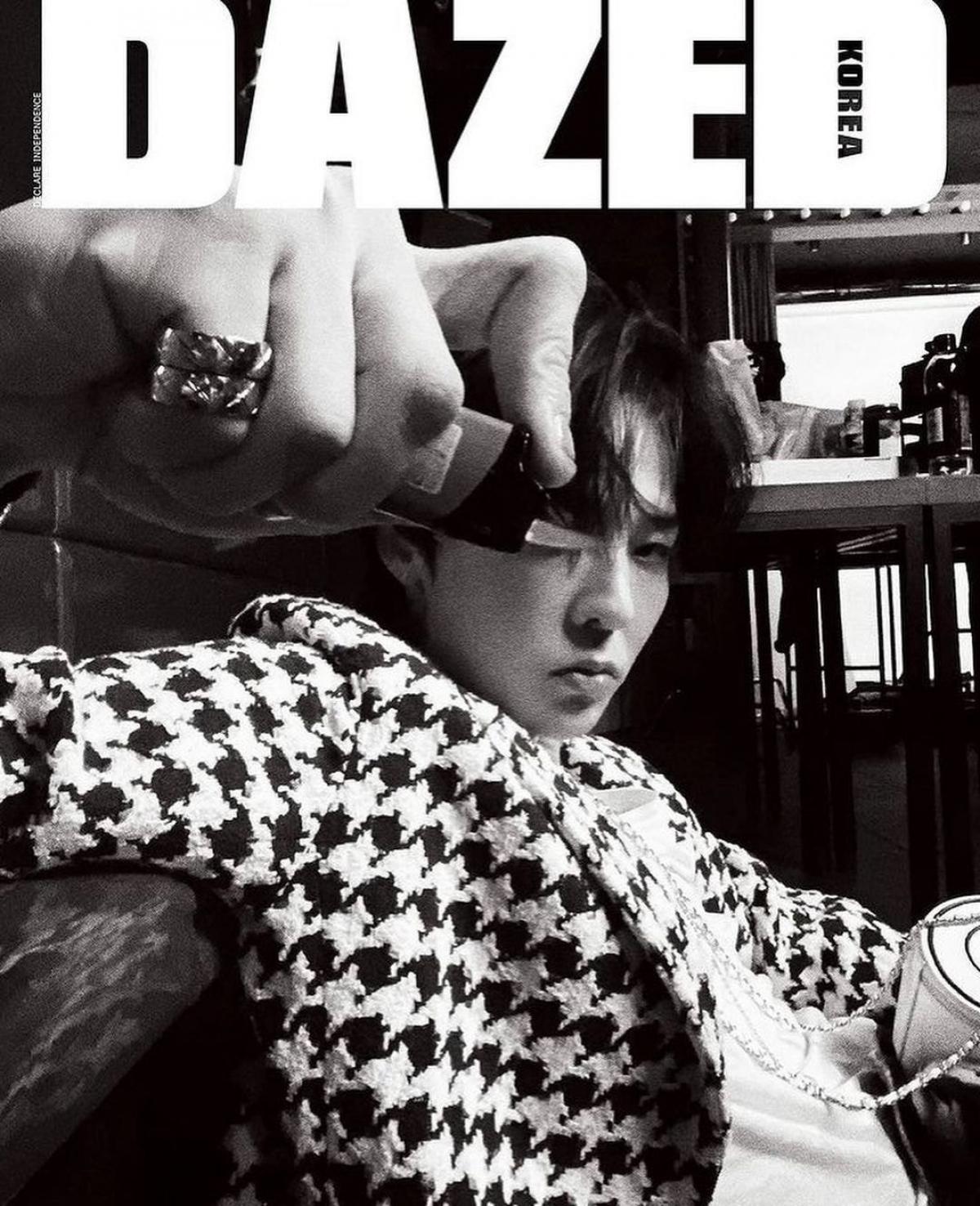 G-Dragon khẳng định đẳng cấp 'Ông hoàng thời trang' với 8 trang bìa tạp chí - Ảnh 5.
