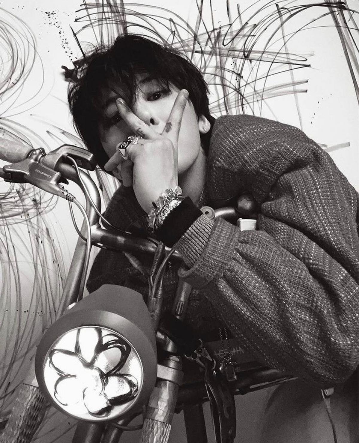 G-Dragon khẳng định đẳng cấp 'Ông hoàng thời trang' với 8 trang bìa tạp chí - Ảnh 4.