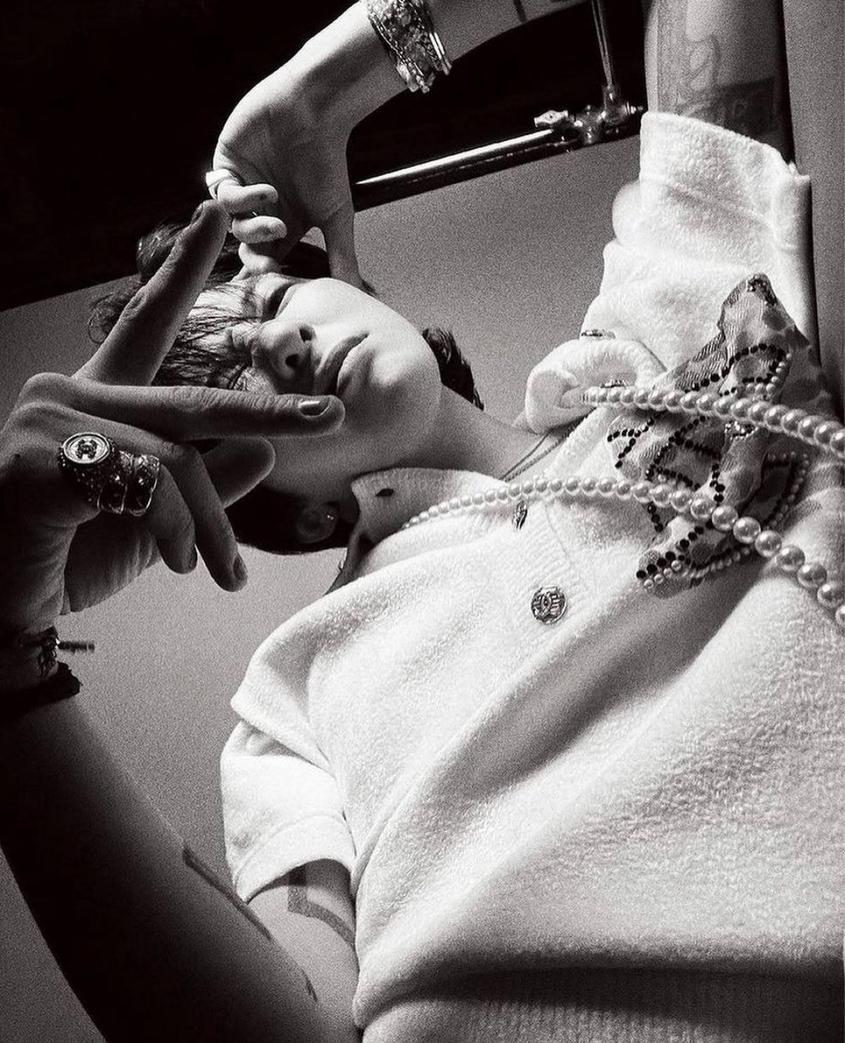 G-Dragon khẳng định đẳng cấp 'Ông hoàng thời trang' với 8 trang bìa tạp chí - Ảnh 6.