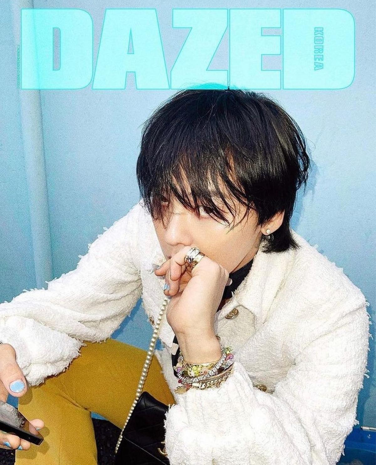 G-Dragon khẳng định đẳng cấp 'Ông hoàng thời trang' với 8 trang bìa tạp chí - Ảnh 1.