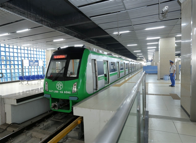 Hành khách sẽ đi tàu đường sắt trên cao Cát Linh - Hà Đông thế nào? - Ảnh 22.