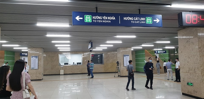 Hành khách sẽ đi tàu đường sắt trên cao Cát Linh - Hà Đông thế nào? - Ảnh 3.