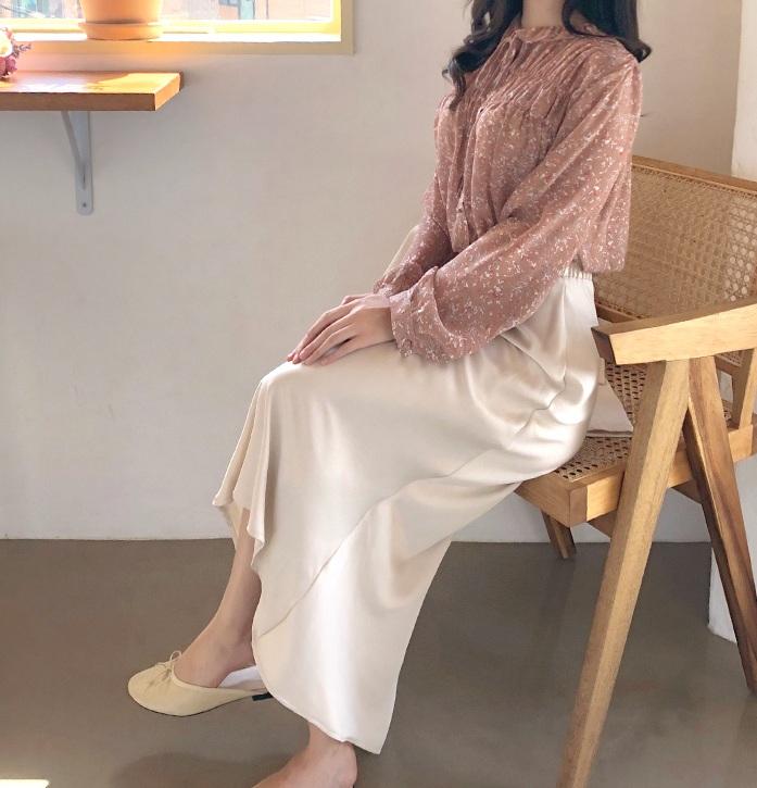 10 cách diện áo hoa cực xinh yêu từ gái Hàn, áp dụng theo thì style chỉ có chuẩn sang xịn - Ảnh 7.