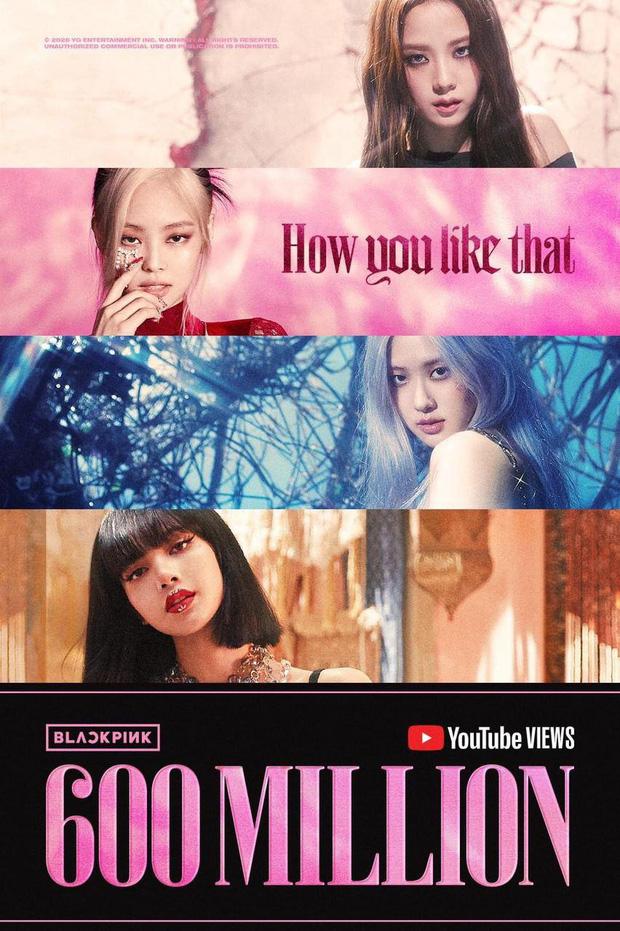 BLACKPINK tiếp tục lập kỷ lục khủng từ MV How You Like That, là nhóm nhạc nữ đầu tiên và duy nhất trên thế giới làm được điều này! - Ảnh 4.