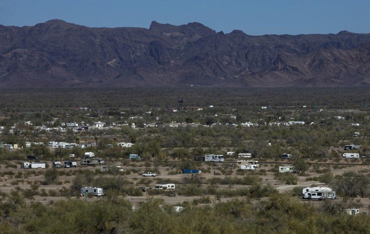 Thị trấn miền viễn Tây hút du khách nhờ 'Nomadland' - Ảnh 2.
