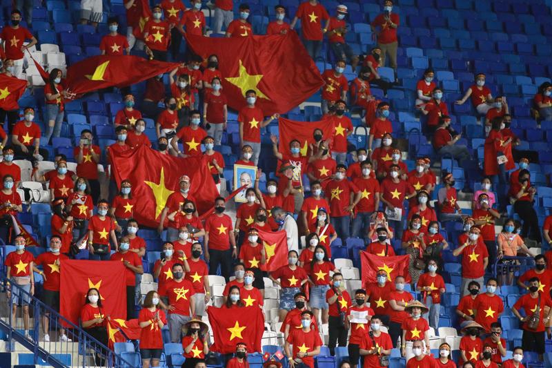 Cổ động viên Việt Nam được mua tối đa 10% số vé trong trận gặp UAE - Ảnh 1.