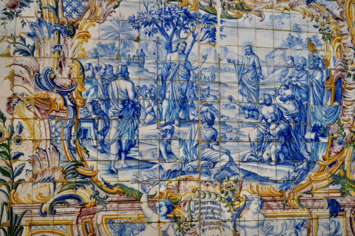 Nghệ thuật chế tác gạch men đặc biệt ở Bồ Đào Nha - Ảnh 2.