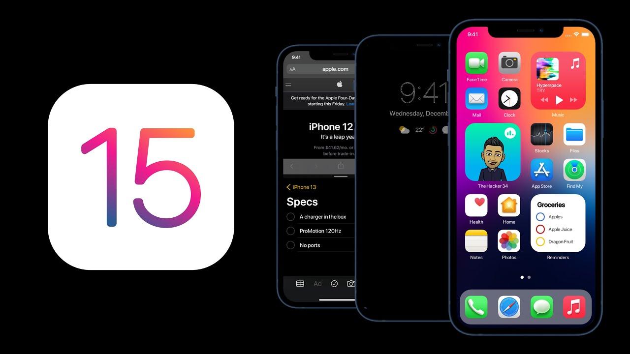 """Ngắm concept iOS 15 chuẩn bị ra mắt: Icon mới nổi bật hơn, bộ widget được cải tiến, cho khả năng tuỳ biến """"tẹt ga"""" - Ảnh 1."""